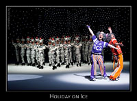 Cameron Medhurst & Forrest Ryan McKinnon bei Holiday on Ice - Energia
