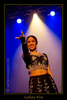 Premiere der Show INDIAN FIRE im Frankfurter Hof (Mainz) von firedancer