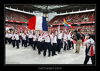 Einzug der Nationen - Gay Games Cologne 2010