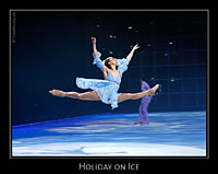 Anna Madorsky bei Holiday on Ice - Tropicana