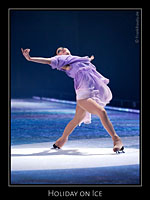 Angela Kim bei Holiday on Ice - Tropicana
