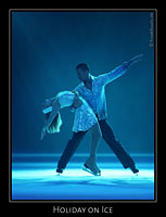 Julia Bailey & Tamas Sari bei Holiday on Ice - Elements