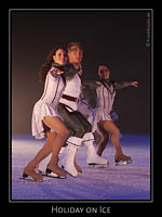 Holiday on Ice - Elements bei der Stadtpremiere Mannheim SAP Arena Feb. 2008