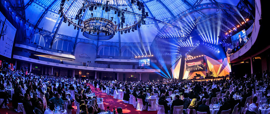 PRG LEA 2016 - Live Entertainment Award in Frankfurt