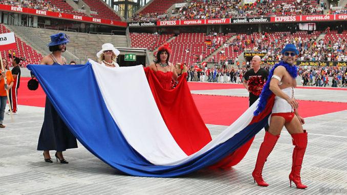 Gay Games 2010 in Köln - Einzug der Nationen