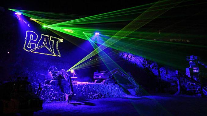 Steinexpo 2011 - Homberg - Wenn Bagger Party feiern