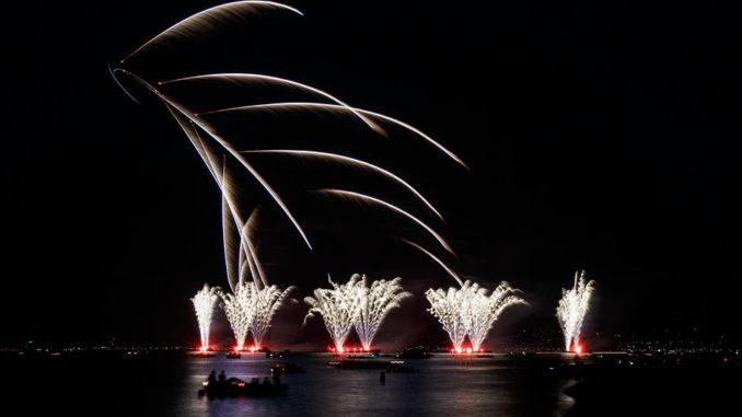 Züri Fäscht 2013 Feuerwerk