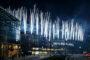 Feuerwerk Eröffnungsfeier Skyline Plaza