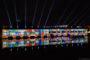 Großartige Lichtspiele am Wasser beim Sommerfestival 2014 in Straßburg