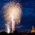 Feuerwerk zur Frühjahrsmesse in Speyer