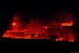 Feuerwerk bei der Heidelberger Schlossbeleuchtung