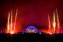 Feuerwerk bei Schloss in Flammen - Mannheimer Mozartsommer