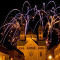 Festliches Feuerwerk bei der Kaisertafel Speyer