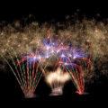 Feuerwerk beim Wurstmarkt in Bad Dürkheim