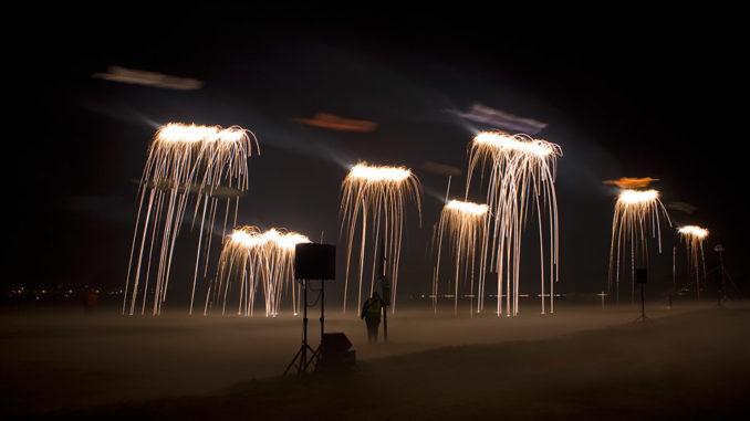 Drachenfest mit feurigem Nachtflugprogramm in Rodgau