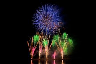 Feuerwerk THE ROYAL SKY bei Rhein in Flammen in Bonn