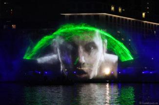 Multimediashow beim Deutschen Turnfest in Frankfurt