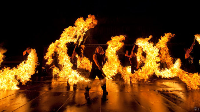 Feuershow Feuerzauber - Paderborn