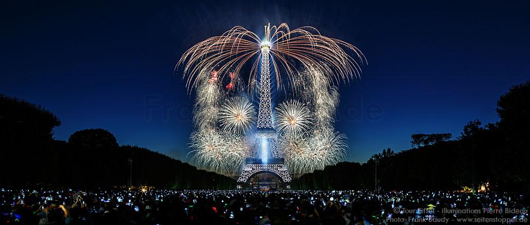 Feuerwerk Eiffelturm 2015