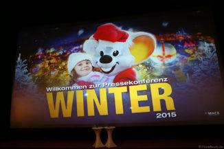 Europa-Park Pressekonferenz Winter 2015