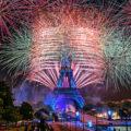Fireworks Eiffel Tower 2016 National Day