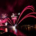 Feuerwerk bei den 1. Mainzer Sommerlichter - 2016
