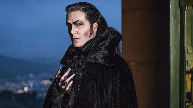 Jan Ammann als Graf von Krolock