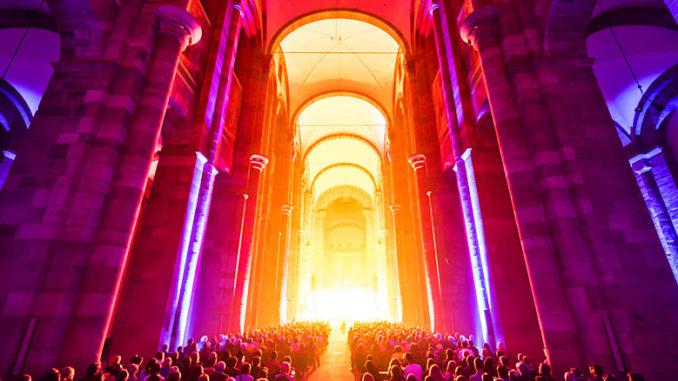 Glaubensfeuer Dom Speyer 2017