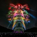 2017-07-14 Eiffel Tower Fireworks Paris