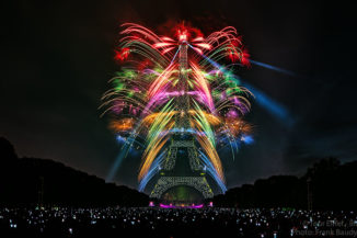 2017-07-14 Eiffel Tower Fireworks Paris