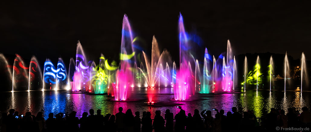 Circle of Light 2017 Moscow Water Show