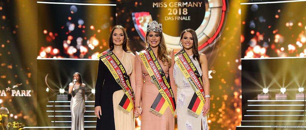 Miss Germany 2018 Wahl im Europa-Park