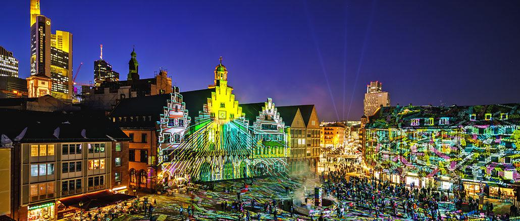 Luminale 2018 Römer Frankfurt