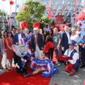 Eröffnung der Eurosat: CanCan Coaster und Coastiality Achterbahn