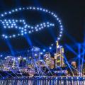 Drohnenshow STERNENBILDER Frankfurt 2018