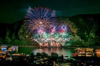 Rhein in Flammen – Nacht der 1000 Feuer - Feuerwerk - Oberwesel
