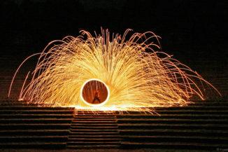 Fire in Motion