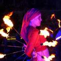 Feuershow Chrysanthema in Lahr
