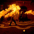 Feuershow Belznickelmarkt
