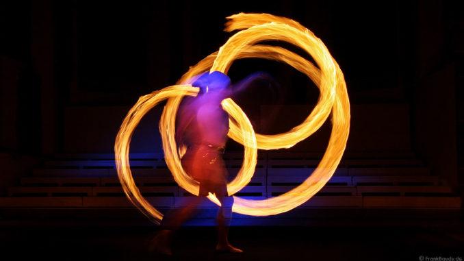 Feuershow Sankt Peter Osternacht