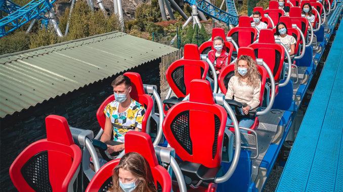 Europa-Park Eröffnung Corona