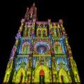 Lichtshow PAUSE am Straßburger Münster