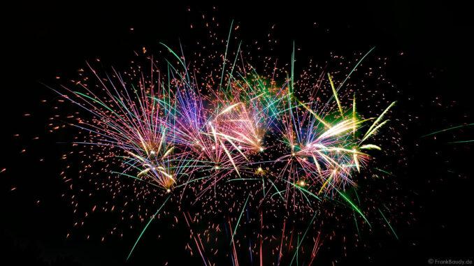 Silvesterfeuerwerk Vorschiessen Beisel