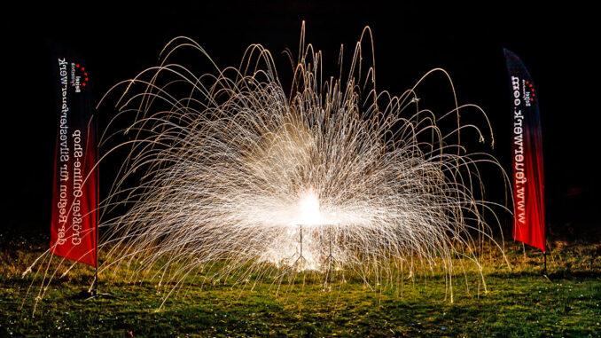 Feuerwerk bei der XXL LIVE Böllertour