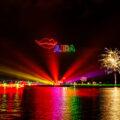 Sternenzauber über Kiel Drohnen