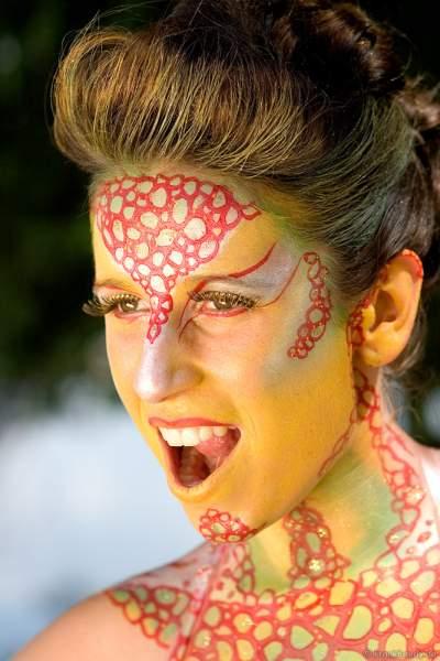 German Bodypainting Festival 2006 - Künstler: Sabine G. Vogel, Model Eva