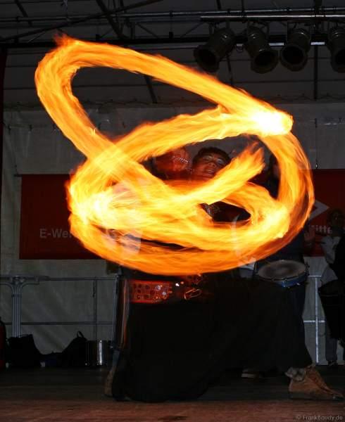 Feurige Show beim Blumen- und Kulturfestival Chrysanthema in Lahr