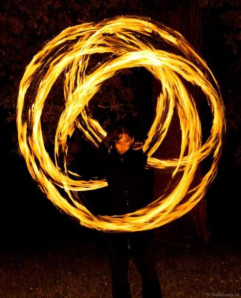 Feuerblume von Feuerspielerin Keiko.