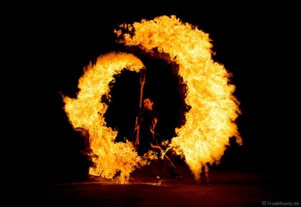 Feuershow von Gloryfire - Schloss Langenburg