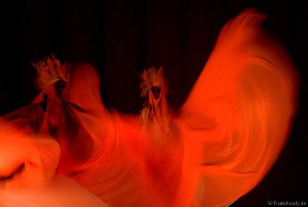 Schwarzlichtshow von TOPAS zur Luminale 2008 - Mathildenhöhe Darmstadt
